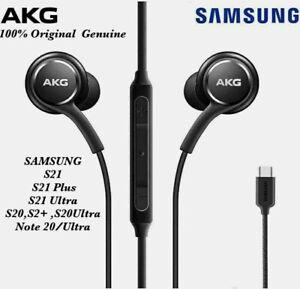 Replacement Genuine Akg Earphones Type C for Samsung Galaxy S21 S21+ S21U Ultra