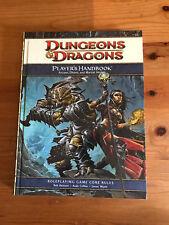 Dungeons & Dragons Player's Handbook by Wizards RPG Team (Hardback, 2008)