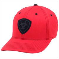 Ariat Men/'s Black Red Aztec Mesh Trucker Cap 1514701