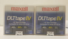 FUJI IMATION MAXELL  DLTtape IV 40GB/80GB Used DLTIV Tape in Case