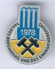 DDR Abz. Tag des Deutschen Bergmanns und Energiearbeiters 1978