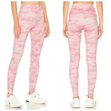 Onzie High Rise Womens Leggings in Blush Camo Sz S/M Workout Activewear