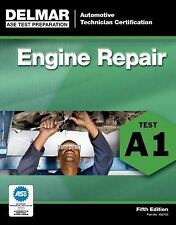 Delmar A1 ASE Automotive Engine Repair Test Prep Home Study Exam Manual Guide