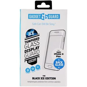 Gadget Guard (Black Ice Back Glass) for iPhone 8 Plus - Clear / Back Glass ONLY