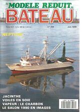 MODELE REDUIT DE BATEAU N°320 VOILES EN SOIE (2) / LE JACINTHE (2) / NEPTUNE