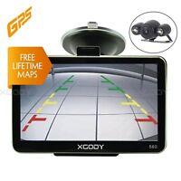 XGODY 560 5'' Car LGV SAT NAV GPS Navigation Bluetooth Wireless Backup Camera