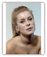 1965 Rare Catherine Deneuve Sexy Close Up French Actress 8 x 10 Publicity Photo
