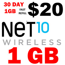 NET10 $20 1GB 30 DAY REFILL 🔥 FAST-> DIRECT PHONE 🔥 GET IT TODAY! 🔥