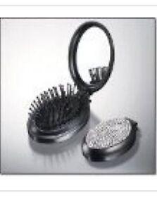 Brand NEW - AVON Shimmering Compact Travel Purse Brush Mirror - Free Ship