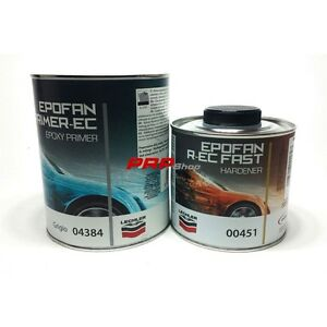 Kit Primer Lechler Epofan R-Ec 04384 Antiruggine + 00451 Epofan R-Ec INDURITORE