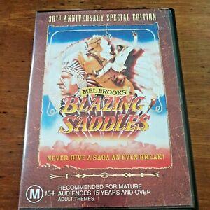 Blazing Saddles DVD R4 Like New! – FREE POST