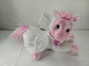 Pony Surprise Plush Pink and White Sparkle Pegasus just Mom no baby ponies