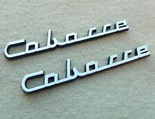 2 LOGOS CABASSE NEUFS NOS POUR ENCEINTES DINGHY SAMPAN SLOOP CLIPPER GALION ...