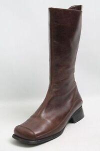 Helioform Stiefel braun Leder Warmfutter Wechselfußbett Gr. 38 (UK 5)