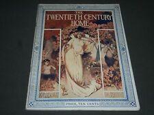 1904 OCTOBER THE TWENTIETH CENTURY HOME MAGAZINE - NICE COVER & PHOTOS - ST 5020