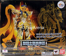 Saint Seiya Cloth Myth EX God Cloth Aquarius Camus Soul of Gold Action Figure US