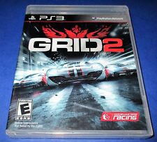 GRID 2 Sony PlayStation 3 *Factory Sealed *Free Shipping!