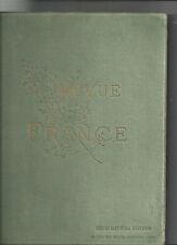 Revista de France Quatrième año Segunda Semestre 1er Oct 1992 31 Mars 1893 @@