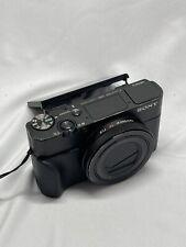 Sony Cyber-shot RX100 V 20.1MP Digital Camera - Black