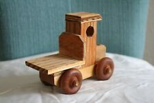 Hand Crafted Vintage Style Wooden Truck Toy