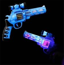 Hand Gun Led With Light Up Scope & Sound  toy lightup flahing novelty gun