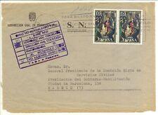 Historia Postal  Frente  Carta serv. oficial Ibiza-Madrid   1970  NL1380