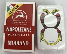 Modiano Napoletane Italian Playing Cards Briscola Carte Italiani Scopa Brand NEW