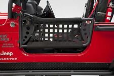Body Armor 4X4 GEN 3 Front Trail Doors w/ Nylon Web 97-06 Jeep Wrangler TJ-6137