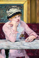 Edouard Manet, The Plum Brandy 1877, European Art Museum Poster, Canvas Print