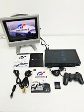 Sony Playstation 2 Black SCPH-50000 Console Set Working 712 Japan Import