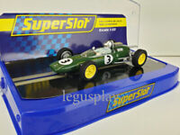 Slot Car Scalextric Superslot H4083 Lotus 25 Jack Brabham Monaco 1963