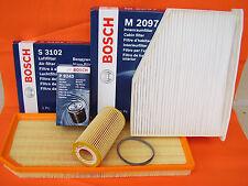 NEU Bosch Filtersatz Öl Luft Innenraumfilter Inspektionspaket P9243 S3102 M2097