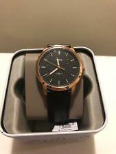 The Minimalist Three-Hand Back Leather Watch, brand new, never worn