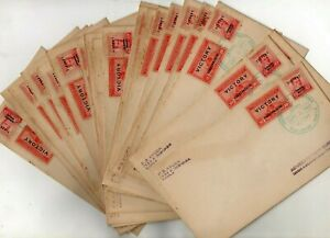 PHILIPPINE x24 Manila/Japan FDC VJ Day Sept 2 1945 RIZAL FORT SANTIAGO Surrender