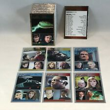 STAR TREK THE COMPLETE NEXT GENERATION 2 Complete SILVER FOIL PARALLEL Card Set