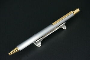 Cartier Ballpoint pen  Must Silver and Gold #C72