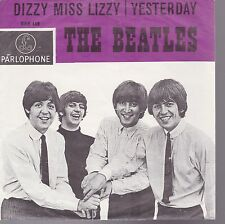 Beatles Dizzy Miss Lizzy / Yesterday Holland Import 45 Without Record