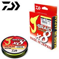 Daiwa 8 Strand Casting Round Braid Line J-Braid Grand X8 135M/150Yd Yellow