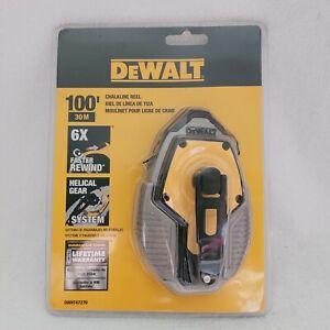 DeWalt 100' Plastic Case Contractor Chalk Line Reel DWHT47270 Brand New Sealed
