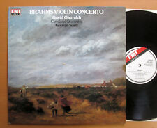 EMX 2041 David Oistrakh Brahms Violin Concerto George Szell EMI Eminence NM/EX