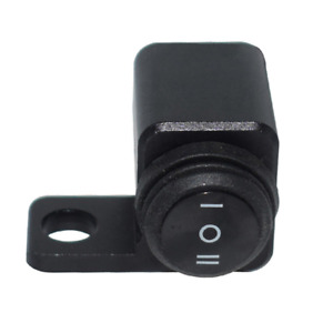 12V Motorcycle Left Mirror Mount Switches on-off-on Button Switch Waterproof