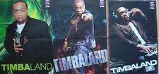 █▬█ Ⓞ ▀█▀   TIMBALAND   __ 3  Poster  / PLAKATE  █▬█ Ⓞ ▀█▀