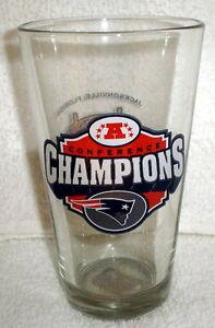 NEW ENGLAND PATRIOTS 2004 AFC SUPER BOWL 39 PINT GLASS