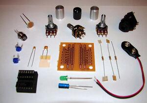 Atari Punk Console Kit - DIY 8 bit chiptune Synthesizer,  Circuit Bending