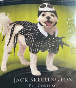 Jack Skellington Rubies Pet Costume Dog MEDIUM