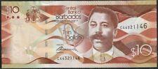 Barbados 10 Dollars Pick 75 (2-5-2013) UNC