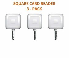 3 PACK - Square Card Readers For Iphone Or Android Devices