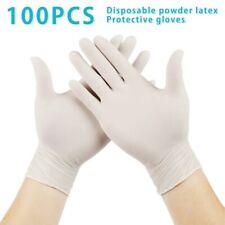 100PCS Disposable Gloves Latex Dishwashing/Kitchen/ Work/Rubber/Garden Gloves