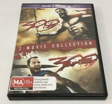 2 Movie Collection 300 And 300 Rise Of An Empire 2 DVD Set