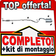 Scarico Completo FIAT PANDA II (169) 1.3 D Multijet MJTD dal 2005 Marmitta T33B